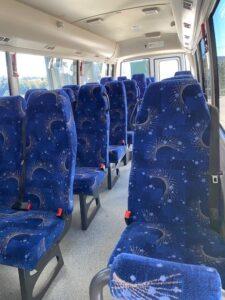 24 Seat Coach Inside