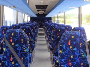 41 Seat Coach Inside