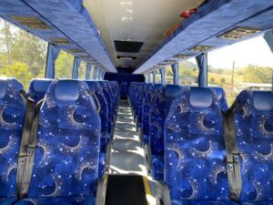 53 Seat Coach Inside